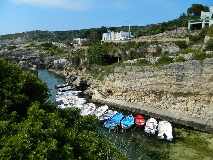 Marina di Novaglie - Altra veduta Porticciolo