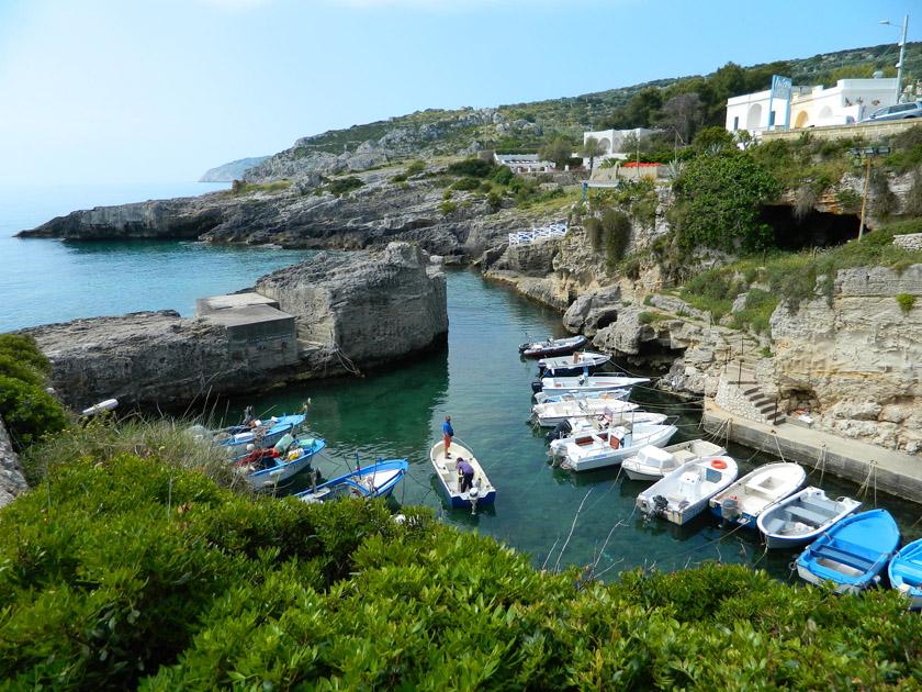 Marina di Novaglie - Il porticciolo
