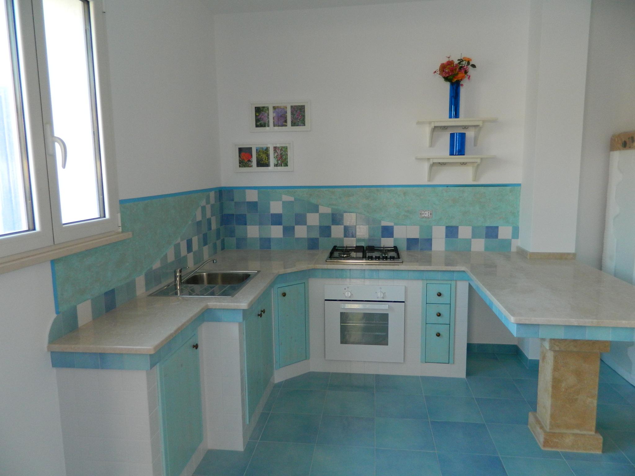 Appartamento in affitto l 39 alloro santa maria di leuca salento case vacanze il carrubo - Cucine per case al mare ...